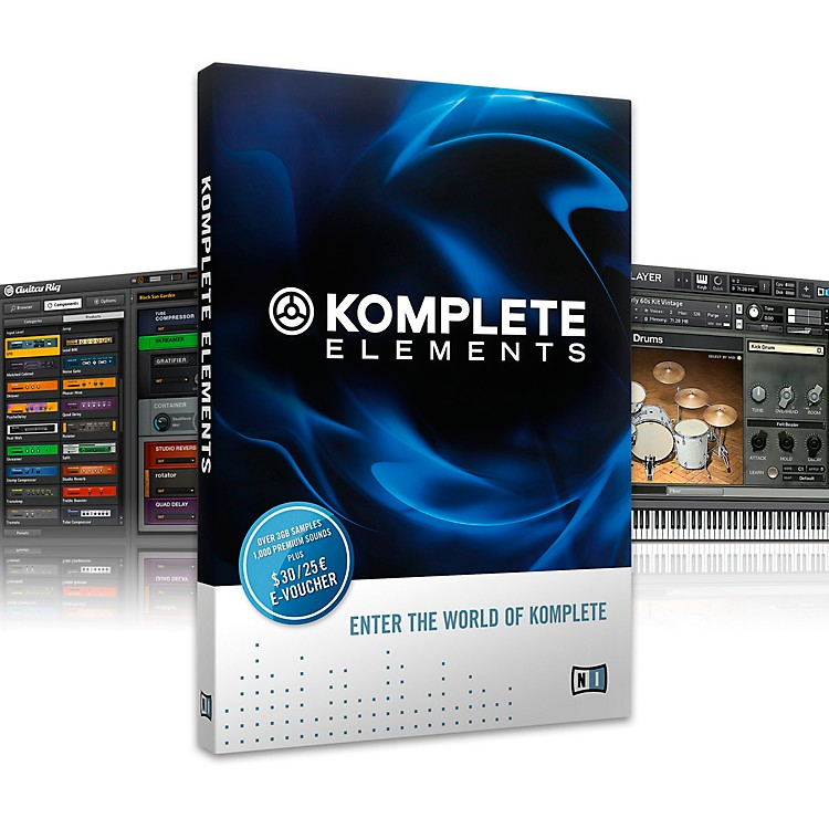 Native InstrumentsKOMPLETE ELEMENTS Software