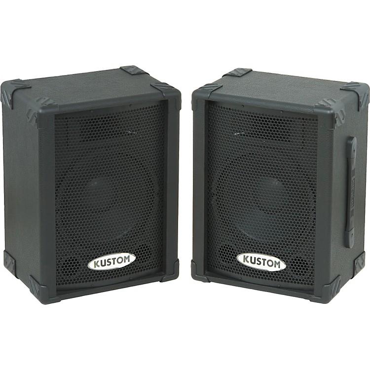 Kustom PAKPC10P Powered Speaker Pair