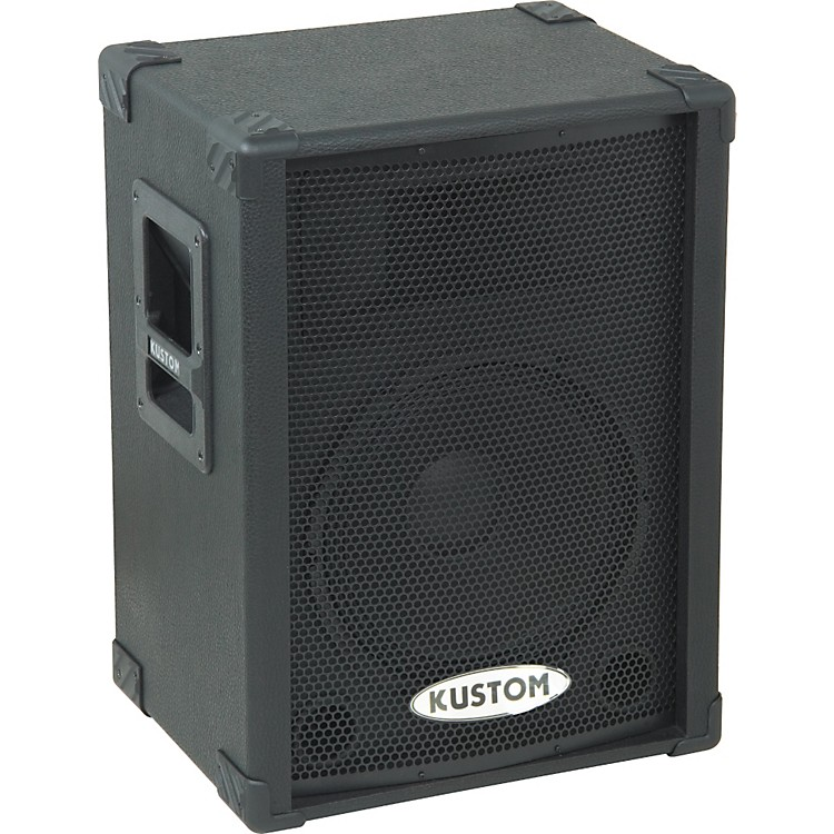 kustom kpc12p 12 powered pa speaker music123. Black Bedroom Furniture Sets. Home Design Ideas