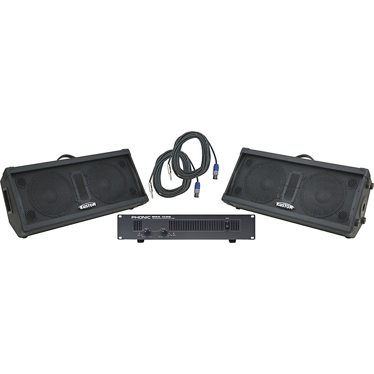 Kustom PAKPC210M / Phonic MAX 1600 Spr & Amp Package