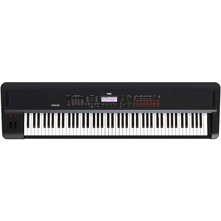 Korg KROSS 2 88-Key Synthesizer Workstation Black