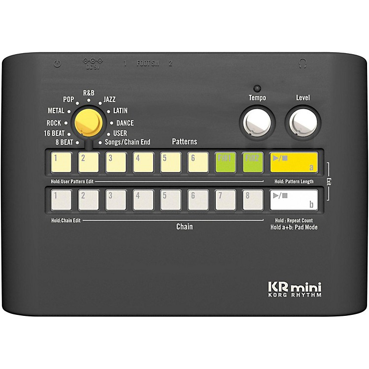 KorgKRmini Compact Rhythm Machine