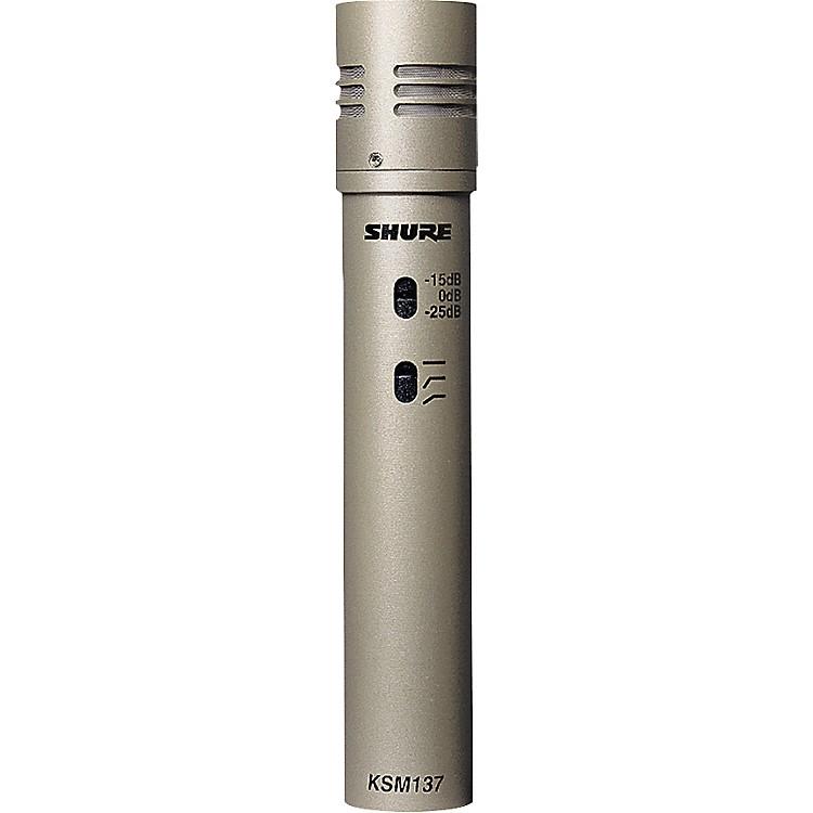 ShureKSM137/SL Cardioid Studio Condenser Microphone