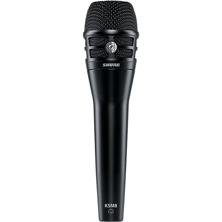 Shure KSM8 Dualdyne Dynamic Handheld Vocal Microphone Black