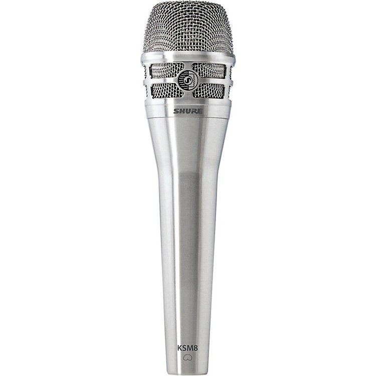Shure KSM8 Dualdyne Dynamic Handheld Vocal Microphone Nickel