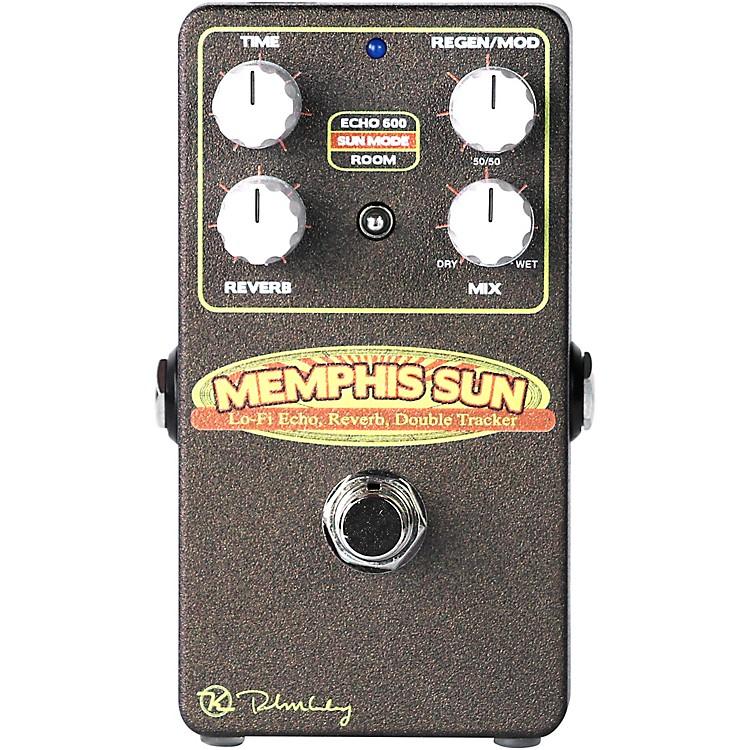 KeeleyKSUN Memphis Sun Lo Fi Delay Reverb Effects Pedal