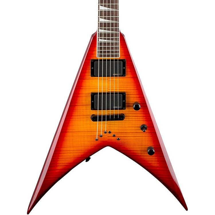 Jackson KVXT Electric Guitar Burnt Cherry Sunburst