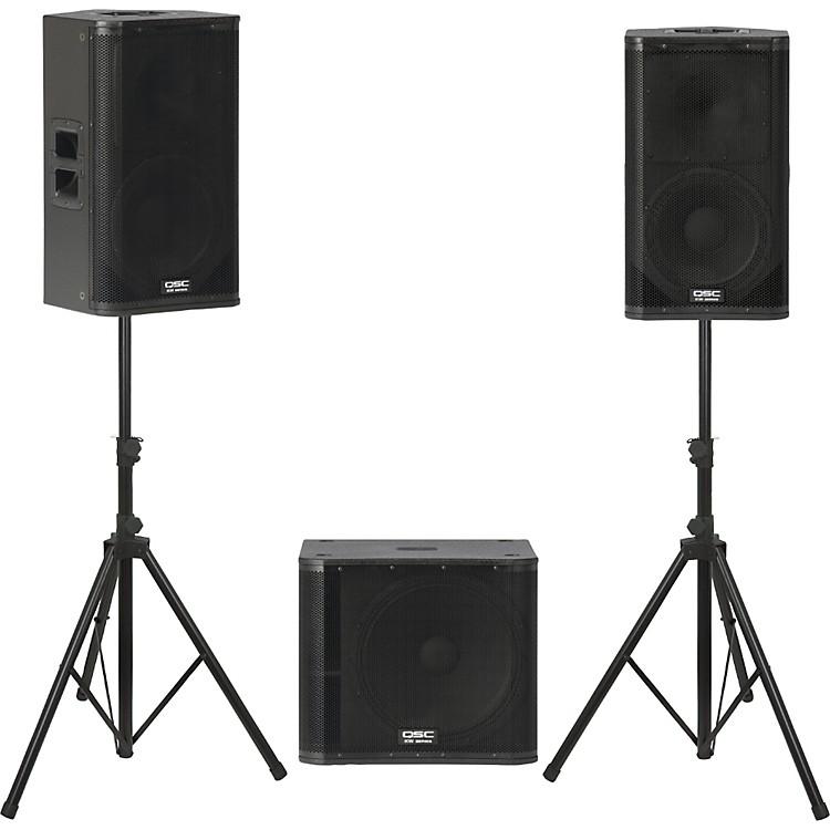 QSCKW122 /  KW181 Powered Speaker Package