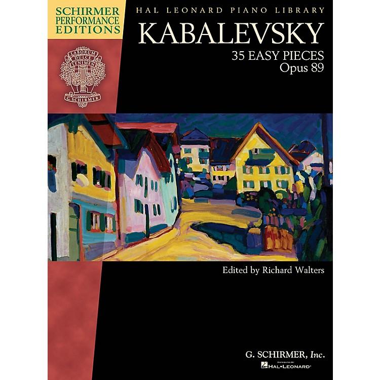 G. SchirmerKabalevsky - 35 Easy Pieces, Op. 89 for Piano Schirmer Performance Editions Softcover
