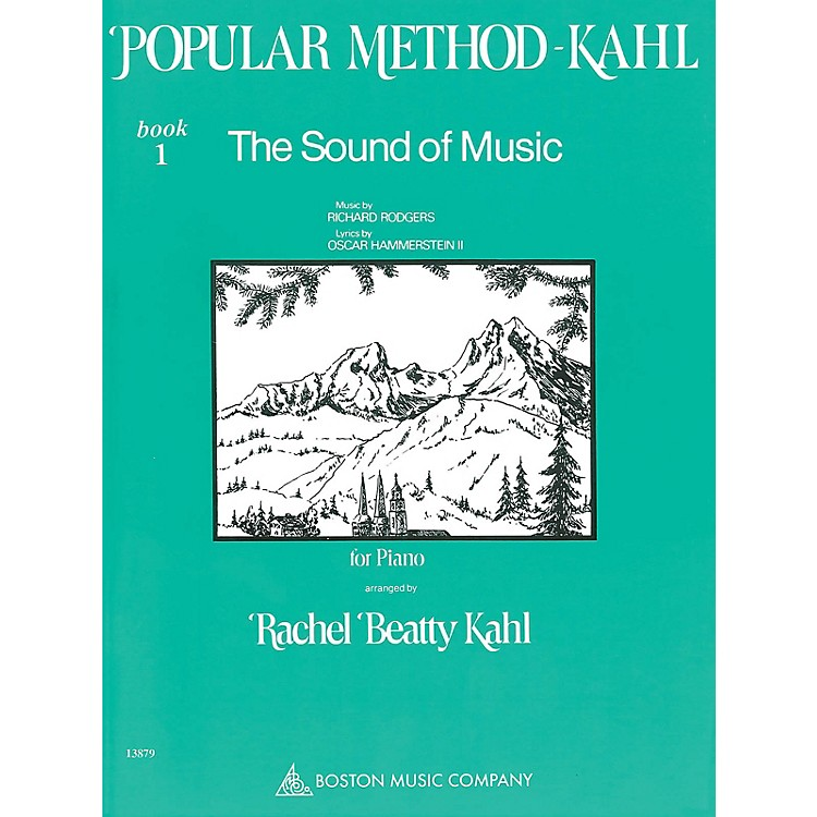 Music Sales Kahl Popular Method: Book 1 - The Sound of Music Music Sales America Series Softcover by Richard Rodgers