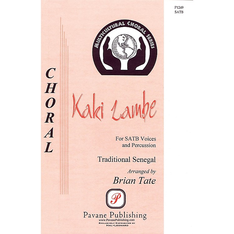 PavaneKaki Lambe SATB arranged by Brian Tate