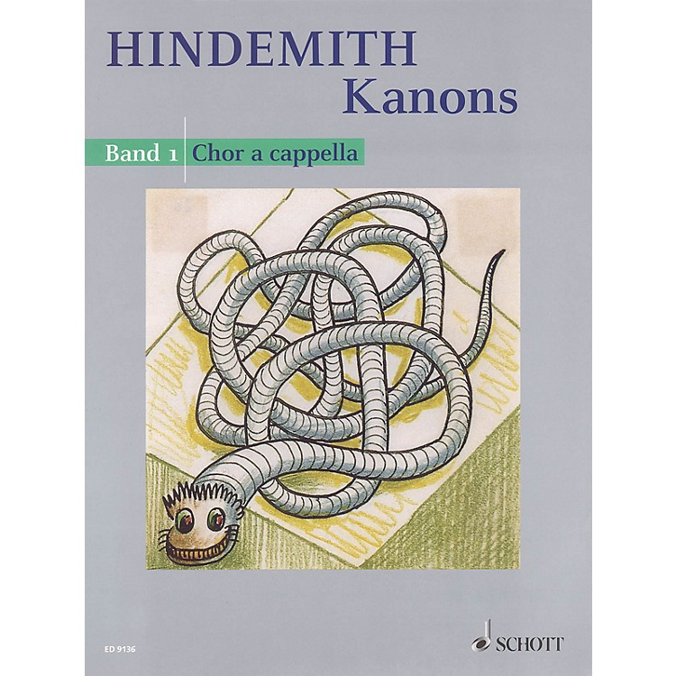 SchottKanons - Volume 1 SATB a cappella Composed by Paul Hindemith