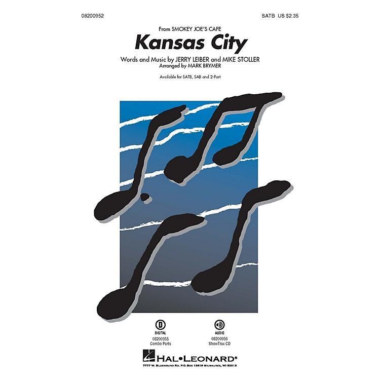 Hal LeonardKansas City (from Smokey Joe's Cafe) SATB arranged by Mark Brymer