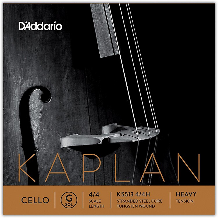 D'Addario Kaplan Series Cello G String 4/4 Size Heavy