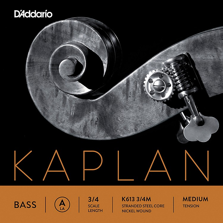 D'Addario Kaplan Series Double Bass A String 3/4 Size Heavy