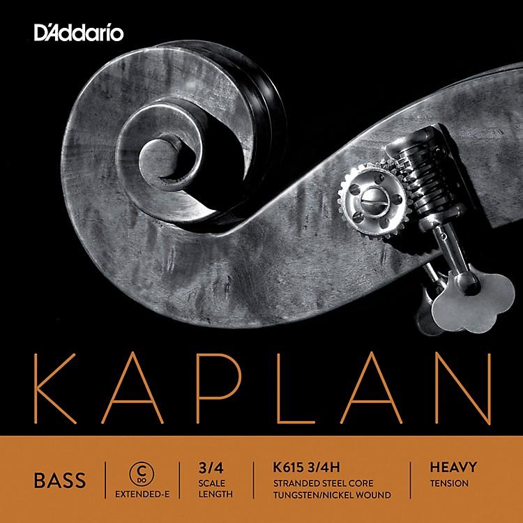 D'AddarioKaplan Series Double Bass C (Extended E) String3/4 Size Heavy
