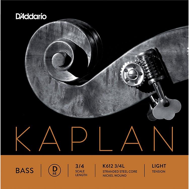 D'AddarioKaplan Series Double Bass D String3/4 Size Light