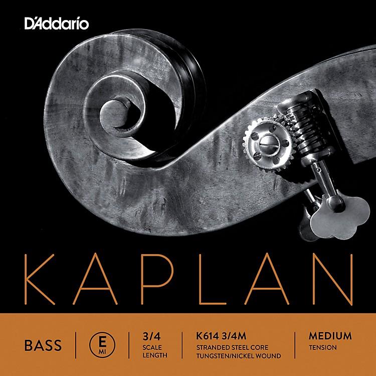 D'AddarioKaplan Series Double Bass E String3/4 Size Medium