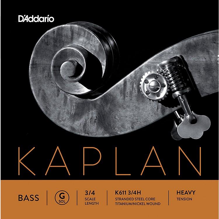 D'AddarioKaplan Series Double Bass G String3/4 Size Heavy