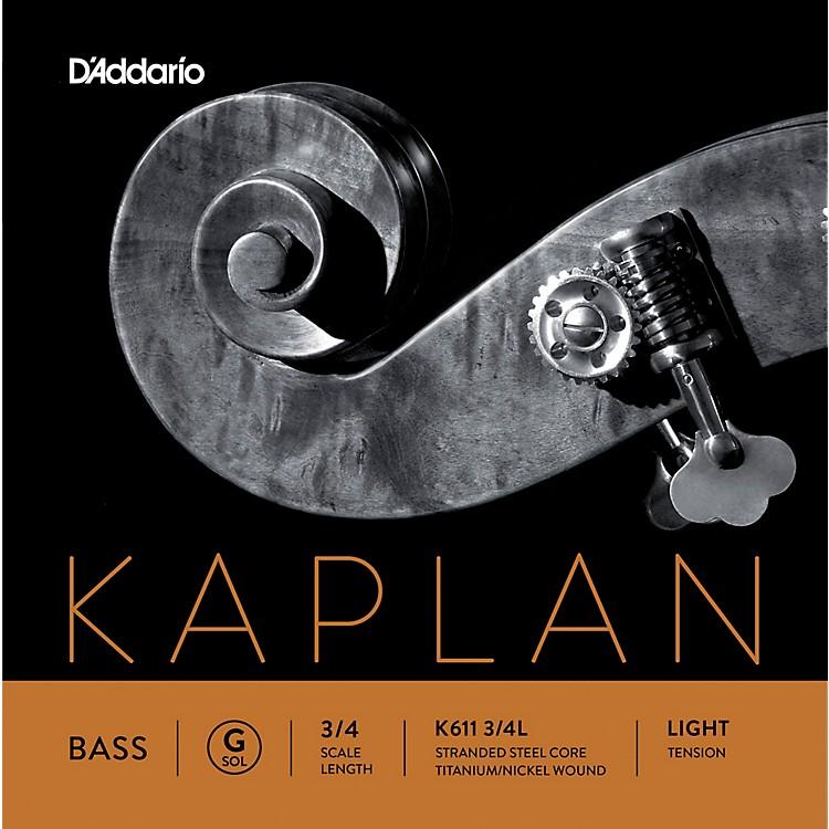 D'AddarioKaplan Series Double Bass G String3/4 Size Light