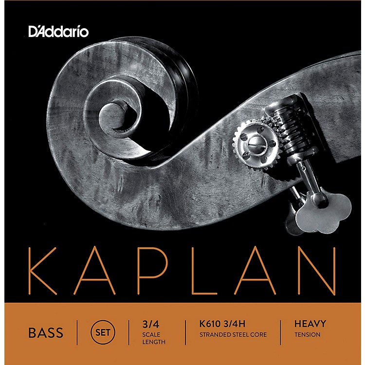 D'Addario Kaplan Series Double Bass String Set 3/4 Size Light