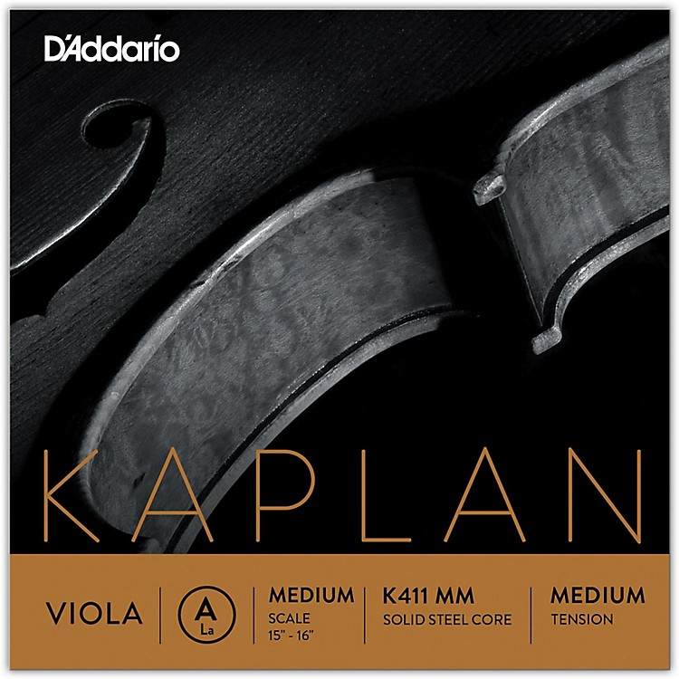 D'AddarioKaplan Series Viola A String15+ Medium Scale