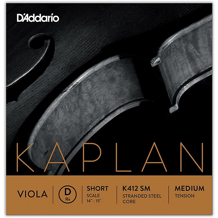 D'Addario Kaplan Series Viola D String 16+ Long Scale Heavy