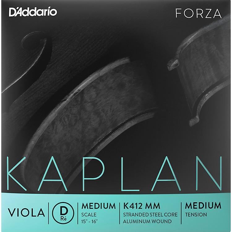 D'AddarioKaplan Series Viola D String15+ Medium Scale