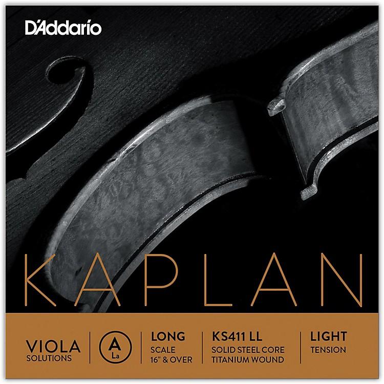 D'AddarioKaplan Solutions Series Viola A String16+ Long Scale Light