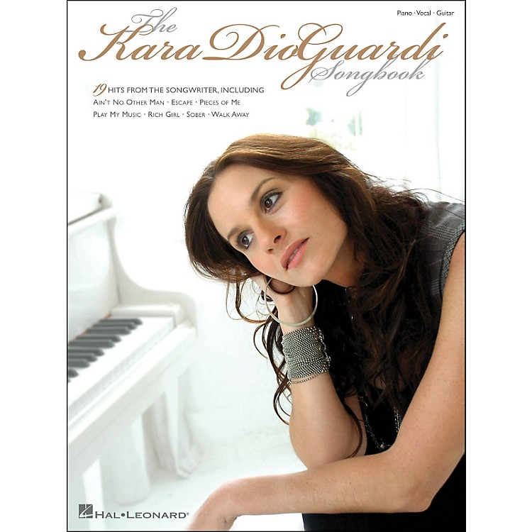 Hal LeonardKara Dioguardi Songbook arranged for piano, vocal, and guitar (P/V/G)
