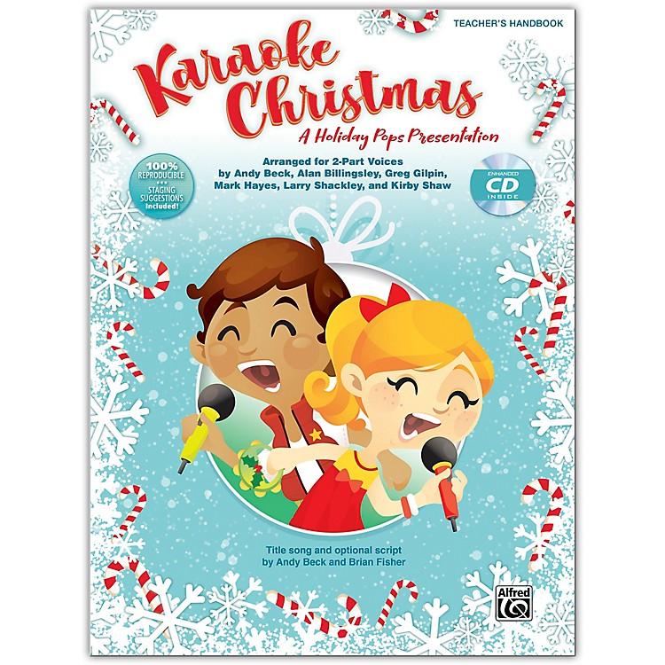 AlfredKaraoke Christmas CD Kit (Book & Enhanced CD)Grades 3-8