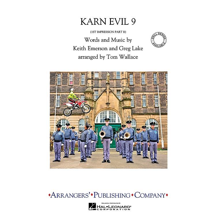 ArrangersKarn Evil 9 Marching Band Level 3.5 Arranged by Tom Wallace
