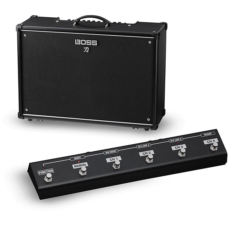 BossKatana KTN-100 100W 2x12 Guitar Combo Amplifier with GA-FC Foot Controller