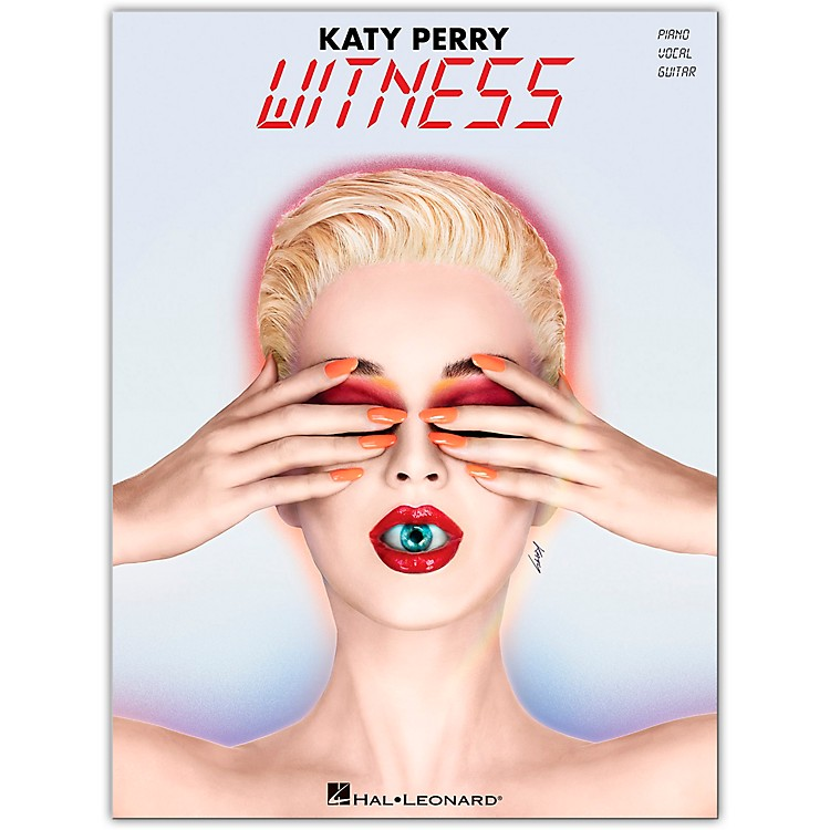 Hal LeonardKaty Perry - Witness Piano/Vocal/Guitar Songbook