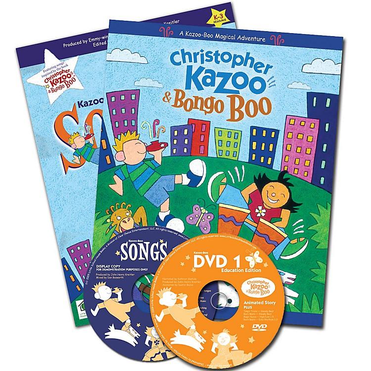 Artz SmartzKazoo-Boo Complete Kit (Storybook, DVD, Songbook, CD & Activities for Pre-K & K-3) by John Henry Kreitler