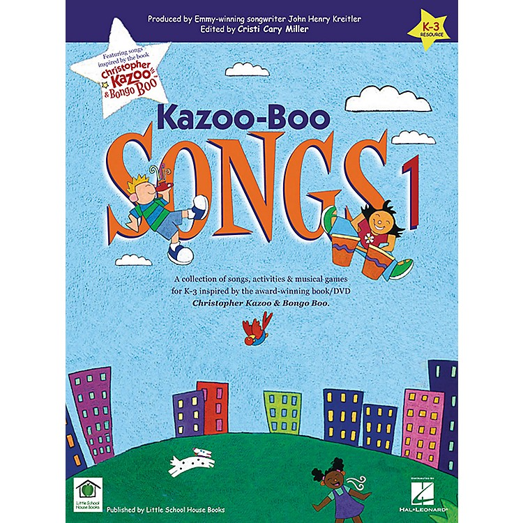 Artz SmartzKazoo-Boo Songs 1 Songbook Composed by John Henry Kreitler
