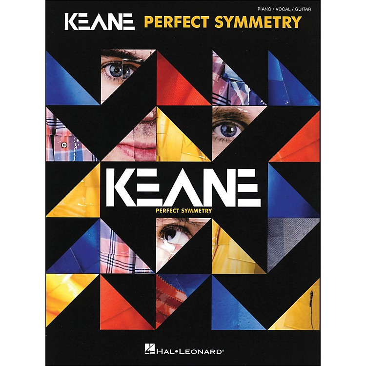 Hal Leonard Keane - Perfect Symmetry arranged for piano, vocal, and guitar (P/V/G)