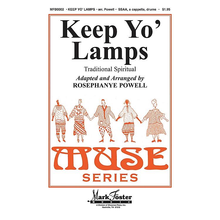 Shawnee PressKeep Yo' Lamps SSAA A CAPPELLA arranged by Rosephanye Powell