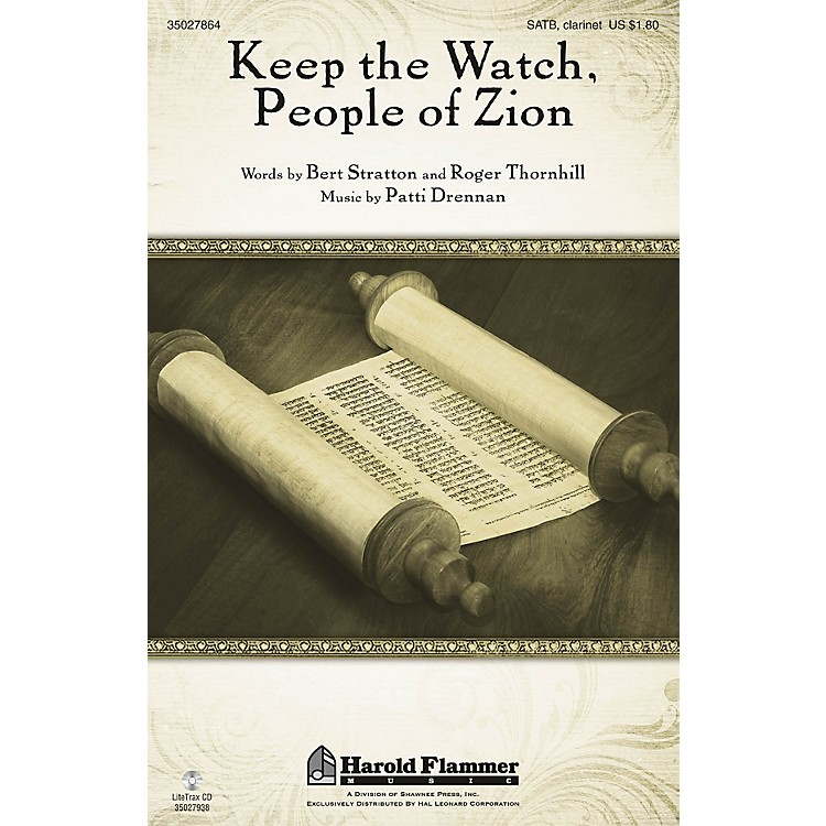 Shawnee Press Keep the Watch, People of Zion SATB composed by Patti Drennan