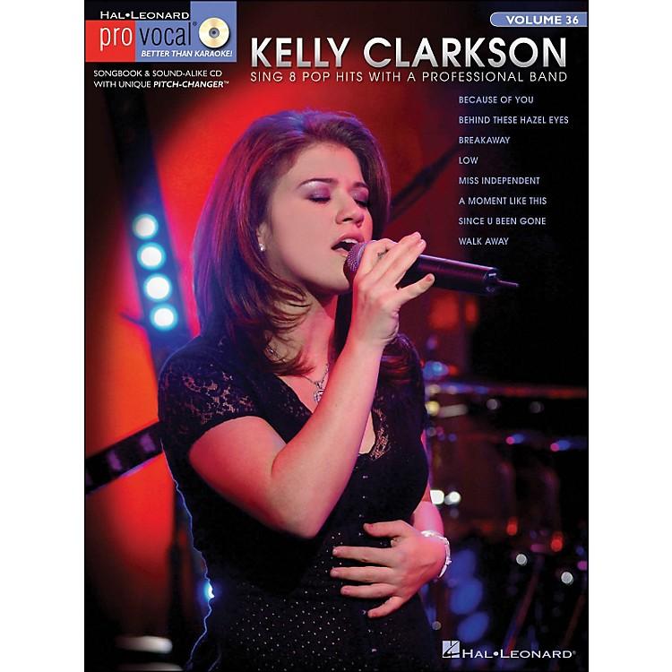 Hal LeonardKelly Clarkson - Pro Vocal Series Book/CD Volume 15