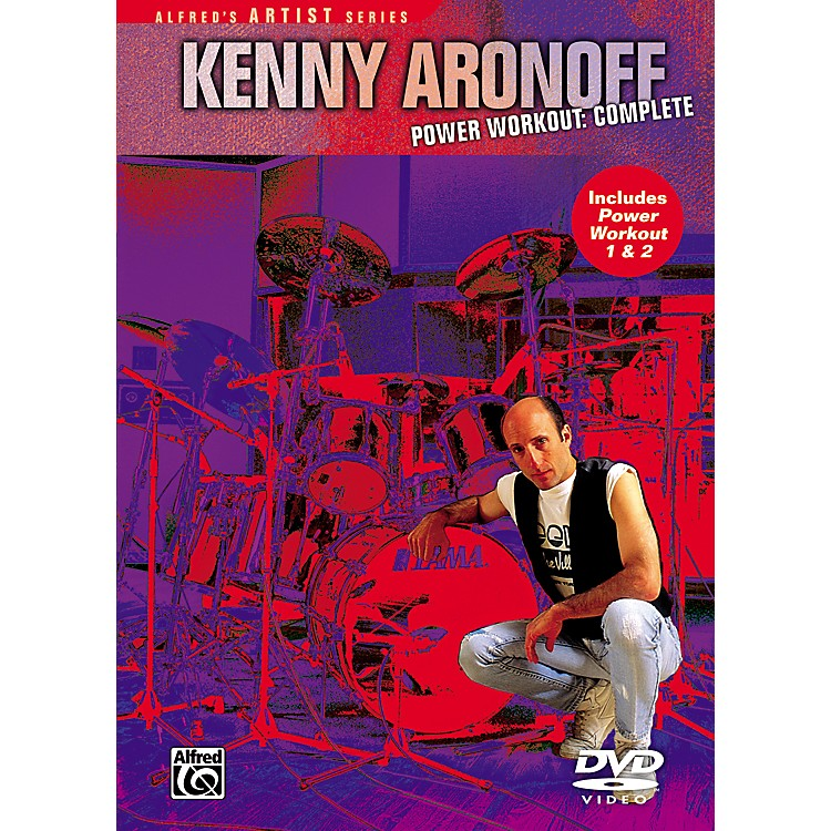 AlfredKenny Aronoff - Power Workout Complete 1 and 2 DVD Set