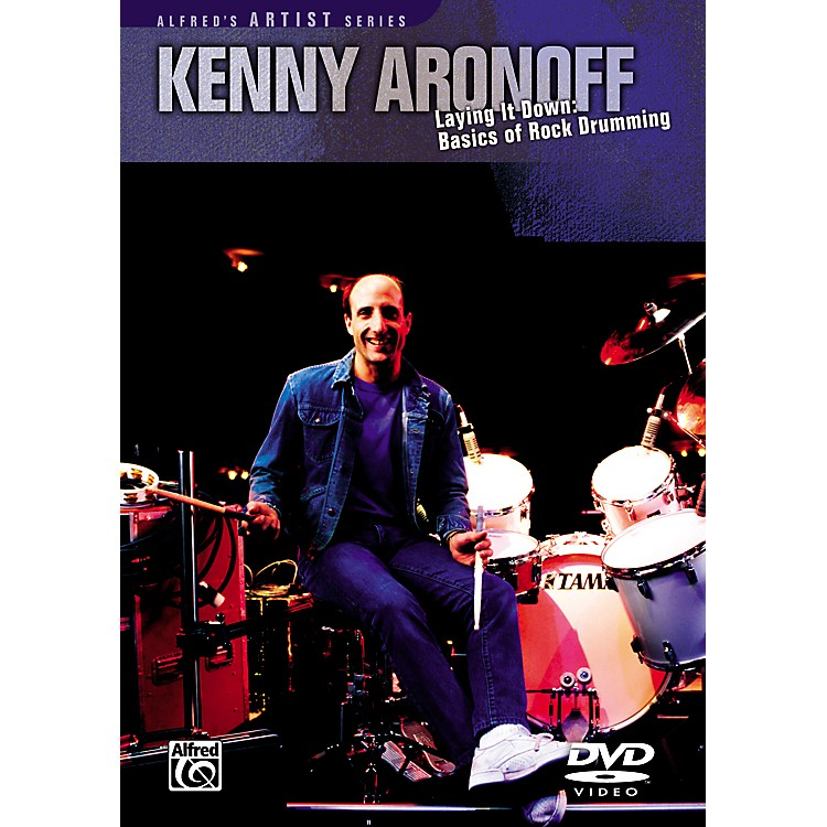 AlfredKenny Aronoff Laying it Down: Basics of Rock Drumming DVD