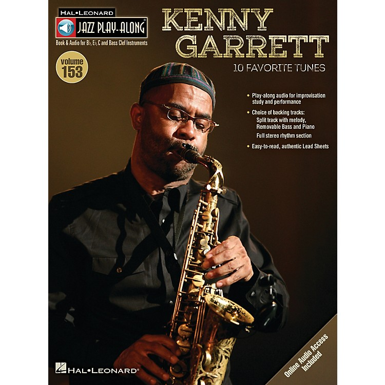 Hal LeonardKenny Garrett (Jazz Play-Along Volume 153) Jazz Play Along Series Softcover Audio Online by Kenny Garrett