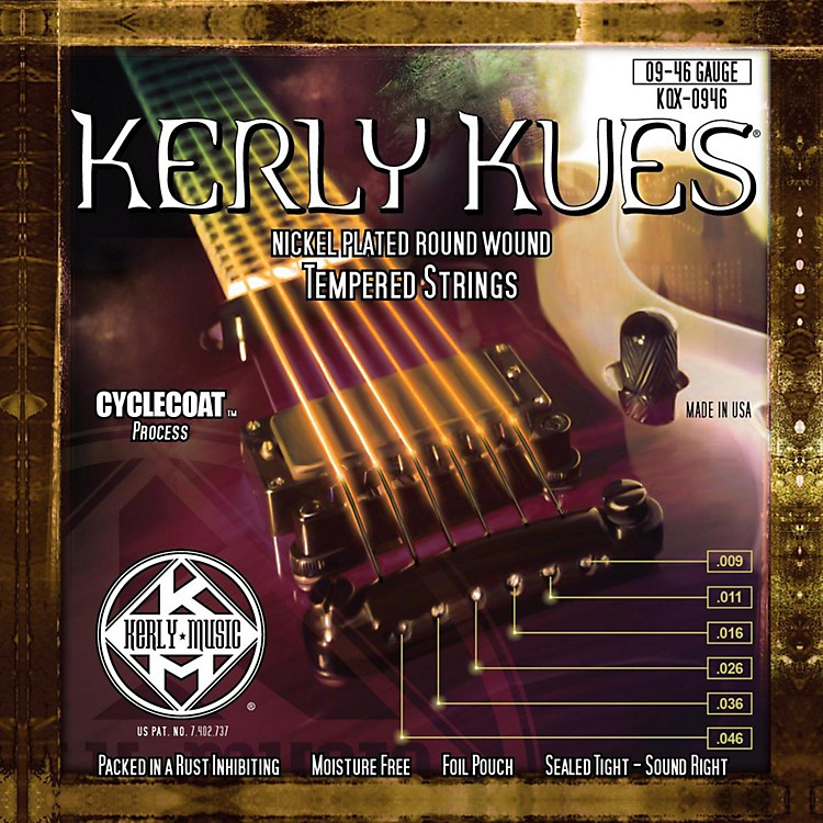 Kerly MusicKerly Kues Nickel Wound Electric Guitar Strings - Light Medium