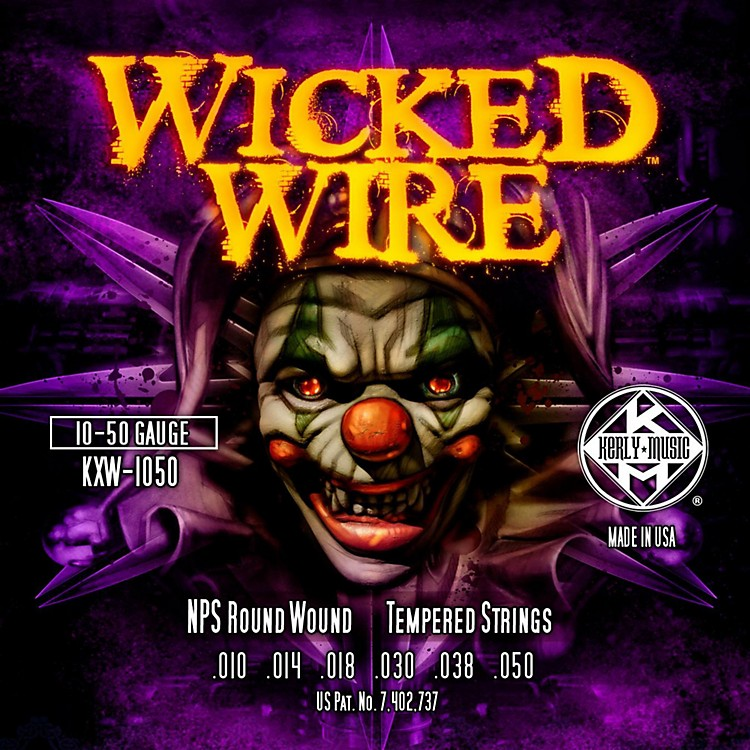 Kerly MusicKerly Wicked Wire NPS Electric Medium 10-50