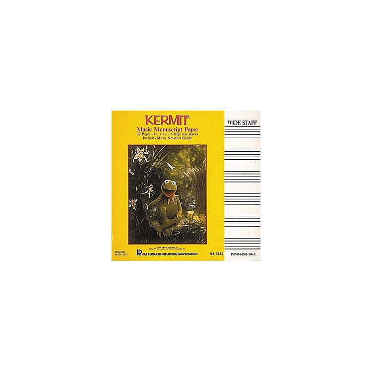 Hal LeonardKermit The Frog Manuscript Paper Book
