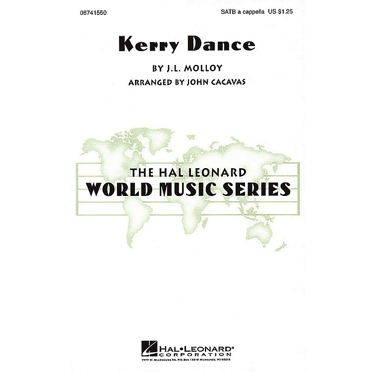 Hal Leonard Kerry Dance SATB a cappella arranged by John Cacavas
