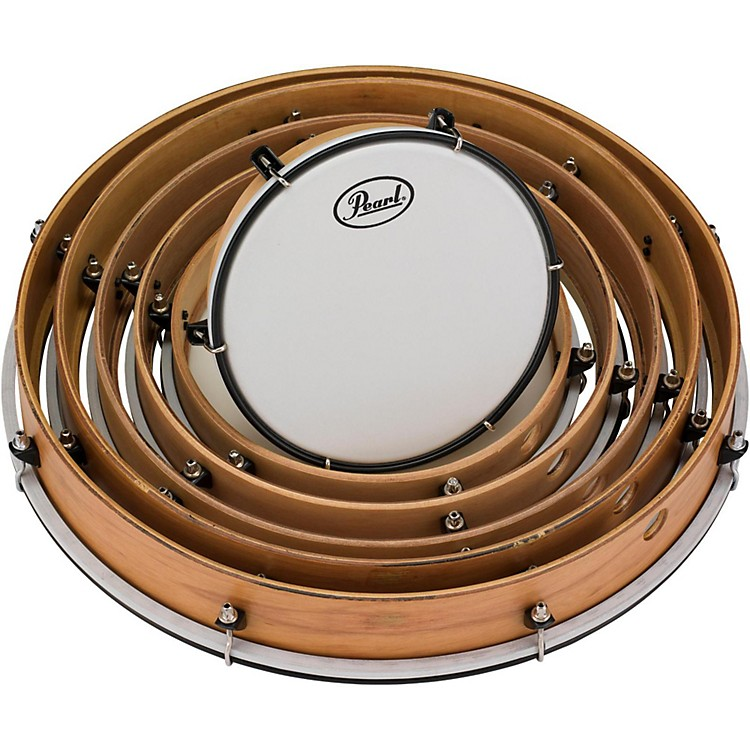 PearlKey-Tuned Frame Drums Set8, 10, 12, 14, 16 and 18 in.888365824024