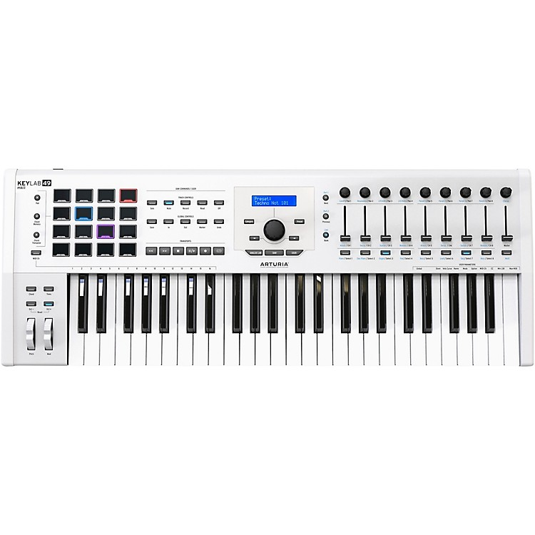 ArturiaKeyLab 49 MKII Keyboard Controller White