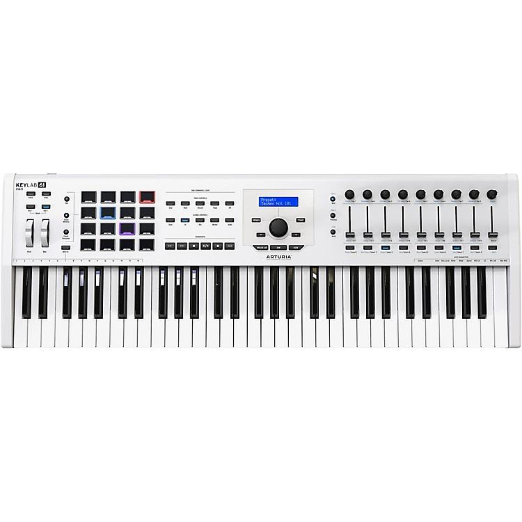 ArturiaKeyLab 61 MKII Keyboard Controller White